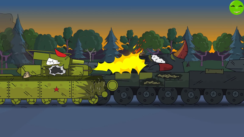 Final fight Cartoons about tanks