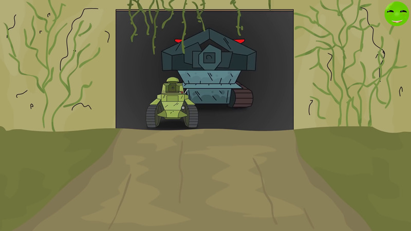 The Secret of the Monster Cartoons about the tanks
