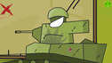 The final is near - Cartoons about tanks